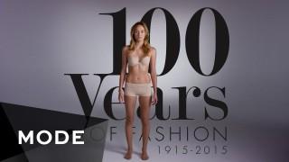 100 anni di moda femminile in 2 minuti