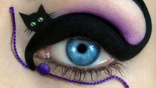 Come dipingersi il gattino di Tal Peleg sulla palpebra