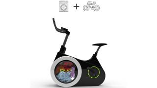 La cyclette-lavatrice che lava i panni senza elettricità
