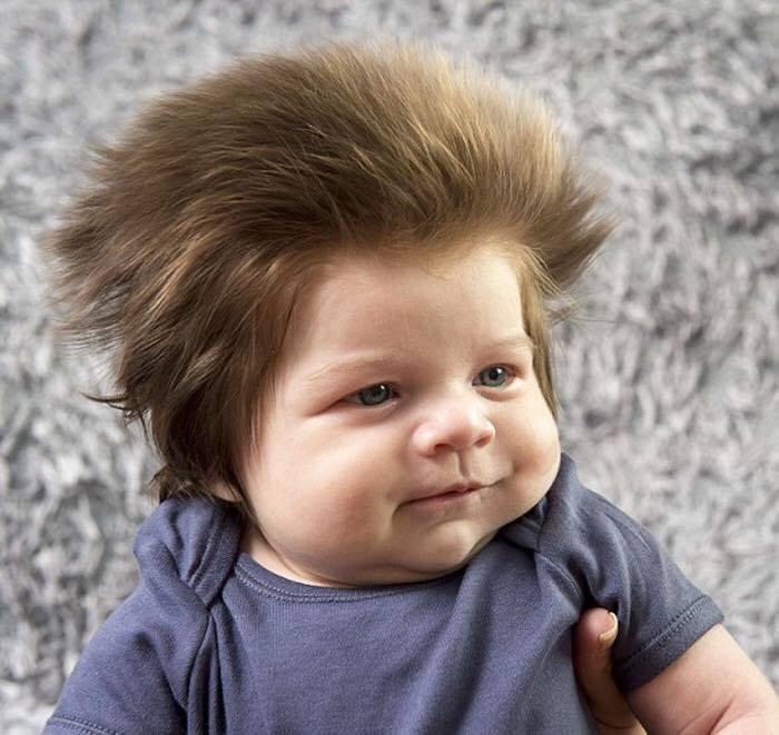Conosciuto Baby Bear, il bambino con più capelli al mondo ⋆ TY27