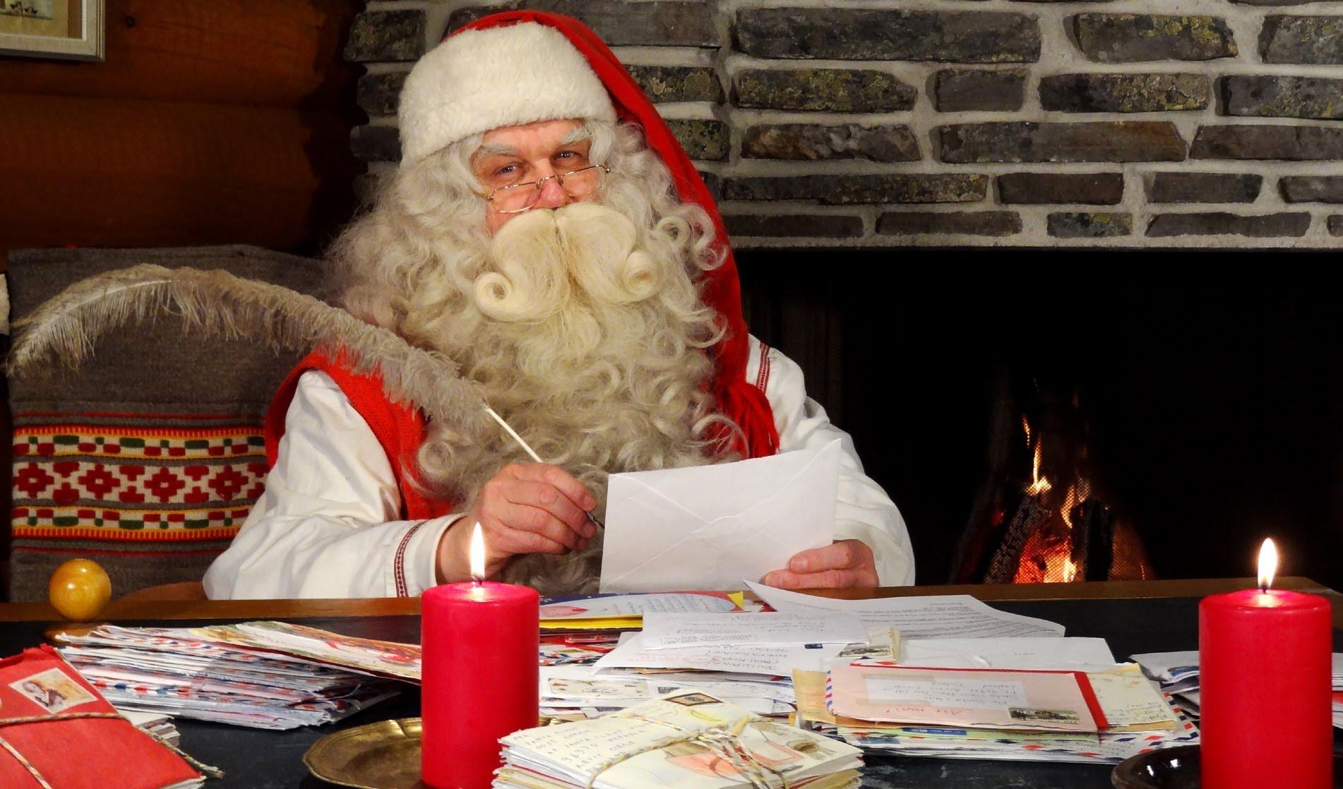 Rovaniemi Lapponia Babbo Natale.Intervista A Babbo Natale In Lapponia Finlandia Rovaniemi