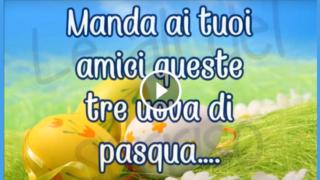 Un video per augurare Buona Pasqua ai tuoi cari