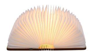 La lampada che si apre come un libro, dalle infinite possibilità