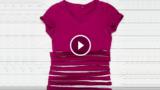 Ecco come trasformare una vecchia T-shirt in qualcosa di utile