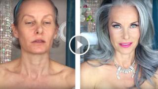 """Trasformazione per una serata con solo """"trucco e parrucco"""", per donne over 50"""