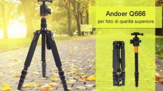 Andoer Q999, un treppiede economico ma di qualità
