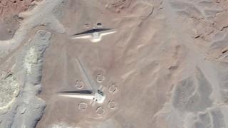 Misteriose costruzioni nel deserto egiziano