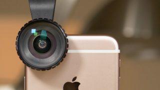 Una lente che trasforma l'iPhone in una macchina fotografica professionale