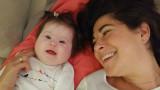 Questa è mia figlia: ha 4 mesi, 2 gambe, 2 braccia, 2 guance paffute e 1 cromosoma in più