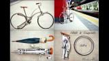 La bici senza raggi che si piega e si mette nello zaino