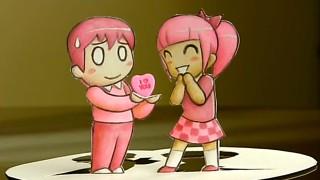 Ho disegnato questa cartolina per te, Buon San Valentino amore mio!