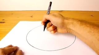 Come disegnare cerchi perfetti a mano libera!