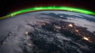 Aurore boreali viste dallo spazio
