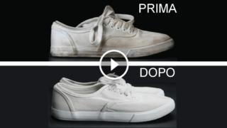 Come pulire perfettamente le tue scarpe da tennis bianche