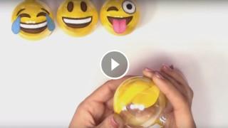 Come realizzare le palline di Natale SMILE EMOTICON