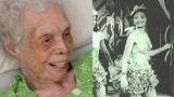 A 102 anni si vede per la prima volta in video ballare quando era giovane