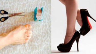 Addio mal di piedi con i tacchi alti, questo semplice trucco è la soluzione