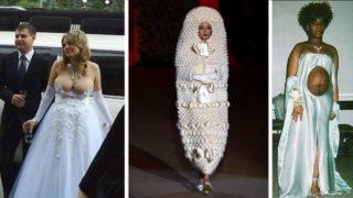 I 12 abiti da sposa più brutti che abbiate mai visto