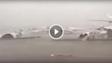 Aerei contro aerei per la tempesta ad Abu Dhabi