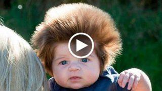 Baby Bear, il bambino con più capelli al mondo