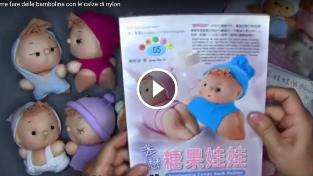 Come fare delle belle bamboline con le calze di nylon