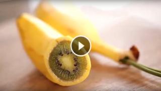 Come realizzare il BANKIWI (banana + kiwi)