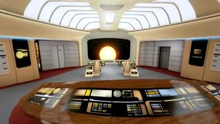 Benvenuti all'interno dell'astronave Enterprise di Star Trek