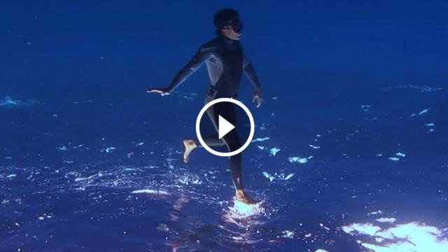 Illusioni sott'acqua: un video sensazionale e surreale, che sembra magico…
