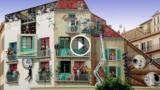 Artista francese trasforma noiosi edifici in colorate scene piene di vita
