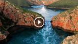 Le incredibili cascate orizzontali che sembrano andare al contrario