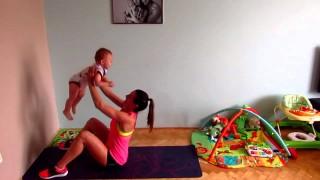 Come allenarsi col proprio bebè
