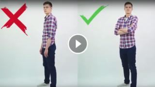 Come mettersi in posa per sembrare più attraenti (per uomini)