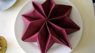 Come piegare il tovaglioli di carta per la tavola delle feste