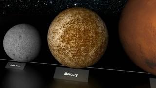Comparazione delle stelle e pianeti nell'Universo