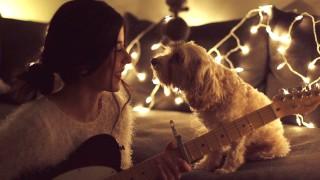 Daniela Andrade canta al suo cane una canzone dolcissima