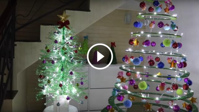 Decorazioni di Natale fai-da-te con materiali di riciclo: un risultato meraviglioso!