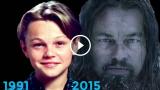L'evoluzione di Leonardo DiCaprio dal 1991 al 2015