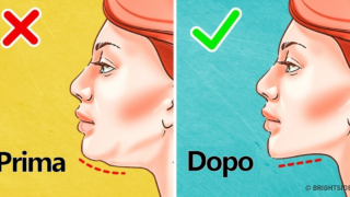 7 esercizi efficaci per sbarazzarsi dell'indesiderato doppio mento