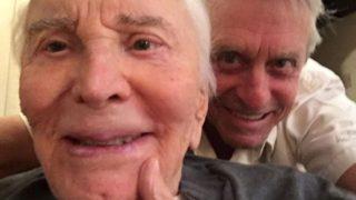 """Kirk Douglas compie 100 anni il 9 dicembre 2016: """"Buon compleanno papà, ti amo!"""""""