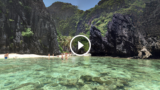 La segreta e nascosta laguna smeraldo, la più bella del mondo