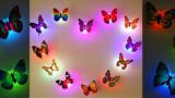 Farfalline luminose da attaccare alle pareti della tua casa