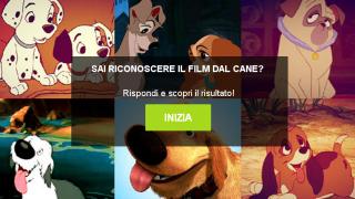 Sai riconoscere il film dal cane?