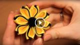 Come realizzare questo fiore di stoffa
