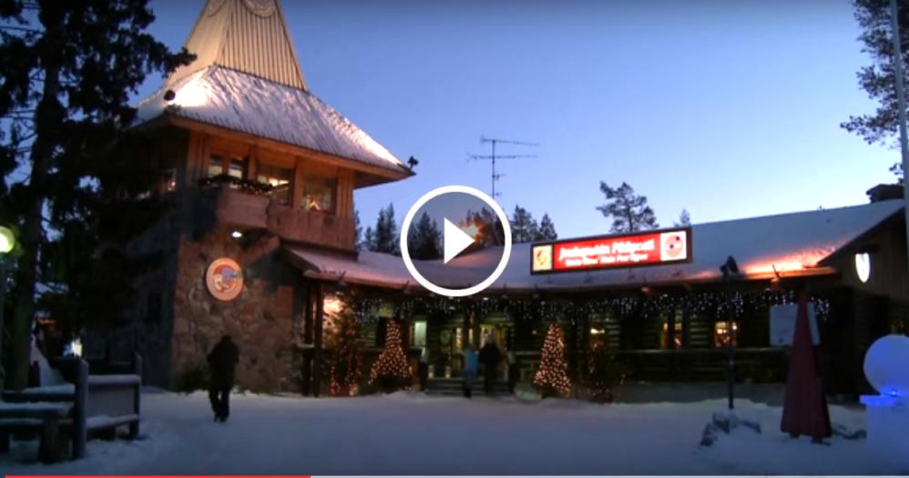 Lapponia E La Casa Di Babbo Natale.L Indirizzo Di Babbo Natale E Questo