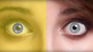 Di che colore è l'iride di questi due occhi? Il 99% sbaglia!