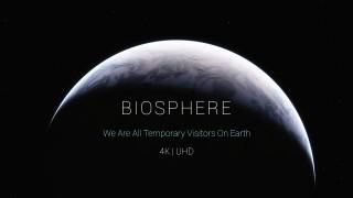 La biosfera catturerà la tua attenzione senza parole, usando solo immagini e suono .