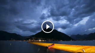 "Rivivi la magia di ""The Floating Piers"" sul Lago d'Iseo con un video incredibile"