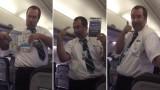 L'assistente di volo più divertente del mondo spiega le regole di sicurezza a bordo