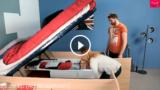 Un letto contenitore geniale