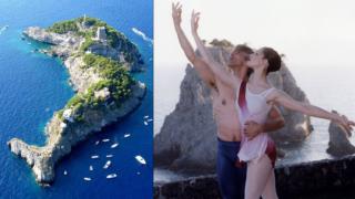 L'isola a forma di delfino appartenuta a Rudolf Nureyev